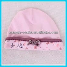 OEM Wholesale cotton baby beanie cap