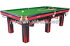 American style Antique Solid wood round dining table billiard game table with pool table accessories
