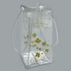 Eco Friendly Clear PVC Wine Bottle Bags