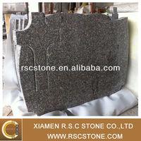 G664 cheap tombstones, brown granite tombstone