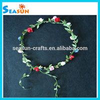 OEM handmade wedding Indian fresh flower garlands paper garland