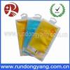 Printed zip lock moisture barrier bag with hanger