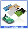 Full Color logo printing USB card/Customized Disgen Credit Card Usb Flash Drive/bulk card usb stick
