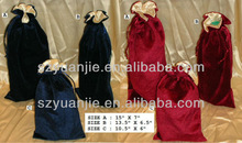 Promotional chinese mini velvet pouch for gift manufacturer & exporter