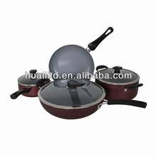 aluminium look cookware