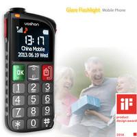 Cheap latest big key button sos elder mobile