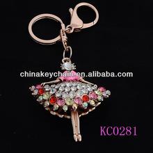 Promotional Custom Plush Dance Keychains