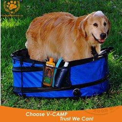 My Pet 600D PVC Folding Dog Bathtub