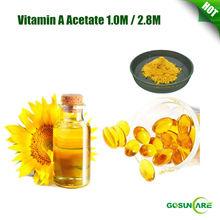 High Quality Vitamin A Acetate 1.0M / 2.8M / Vitamin A Oil/ Vitamin A Liquid