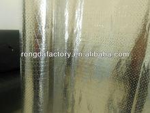 Aluminum Foil Thermal Insulation / Perforated Double Side Foil Scrim Kraft