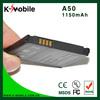 ORIGINAL BATTERY PRICE A50 battery for HTC GarminFone Garmin A50 Bateria Batterie AKKU Accumulator