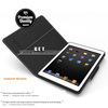2014 best luxury leather case for ipad air stand case