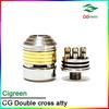 quasar atomizer double cross atomizer wholesale vaporizer pen cloutank m3 kit