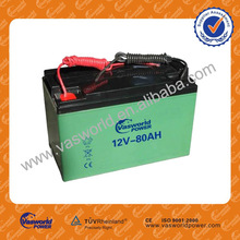 12v 80ah flooded lead acid battery