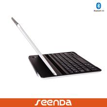 2014 seenda new arrival aluminum keyboard/bluetooth keyboard for iPad air
