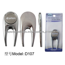 2014 New Design Beautiful Zinc alloy golf divot repair tool with marker D107
