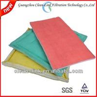 blue colour no-woven polyester air conditioner coarse filter media