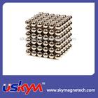 Nickel Neo Neodymium Cube Magnetic Balls