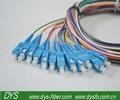 Sc/pc 12 kerne faser patchkabel/12 farben patchkabel