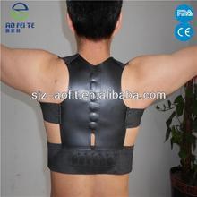 Magnetic Breathable white Shoulders back posture support