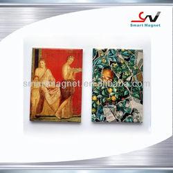 Tourist souvenir fridge magnet for different countries