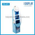 3 camada de exposição de papel stand nivea produtos cosméticos dispaly stands