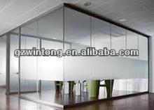 Quality Guarantee Modular Aluminium Glass Office Partition Walls