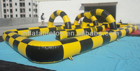 2014 Hot sales inflatable go kart track for sale