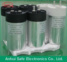 GH Cylinder type Low Voltage General metallized film DC link Capacitors factory
