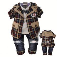 2014 new design infant organic cotton baby clothing