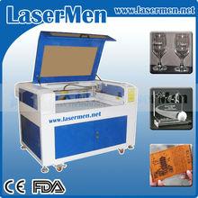Döner sistem için co2 lazer gravür silindirik nesneler lm-9060