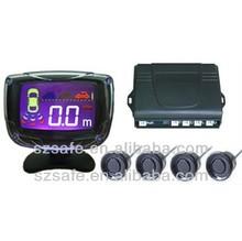 good price beeper alarm black parking sensor radar with 4 rear sensors 2014 FOB
