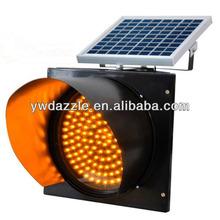 138pcs led Flash Warning solar light led solar traffic signal light