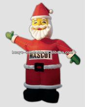High Quality Christmas Inflatable Outdoor Inflatable Christmas Santa In Train Airblown Inflatable Christmas Cartoon