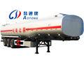 50 metros cúbicos de combustível tanker carregando, tanque de combustível semi reboque para exportação