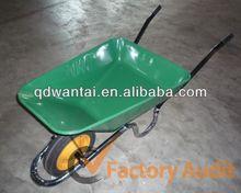 wb3800 agricultural solid rubber wheels handle jiaonan wheelbarrow
