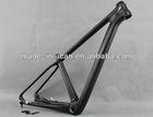29er carbon mtb bike frame thru axle 142*12mm size 16 BB92 for sale