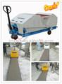 Projetado novo automaticlly zb150-150 concreto pré-moldado muro de coluna