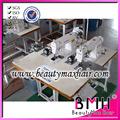2 cabeças de costura máquina de trama do cabelo tecelagem máquina