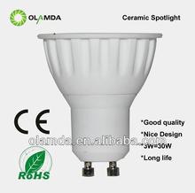 GU10 LED Spotlight Spotlight LED 3W=30W halogen
