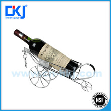 XYB-35 NSF Chrome Plated Car Shaped Wire Wine Rack