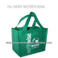 2014 custom brand non woven eco-friendly carrying shopping bag for recycling