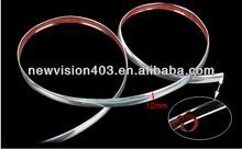 Parachoques de ventilación de aire rejilla interruptor de moldeo borde cromado 12mm*15m tira de ajuste