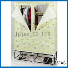 JP-125FAB Modern Portable Folding Fabric Canvas Clothes Closet Wardrobe Furniture