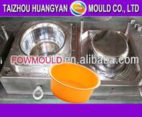 OEM custom plastic bathroom washbasin mould manufacturer