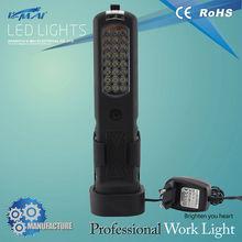 Popular product HU-LA0203 24+3LED subway specified lighting portable led hand lamp