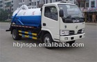 facture sale 3000-4000L sewage suction tanker truck