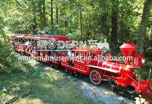 Attraction outdoor amusement equipment diesel tourist train