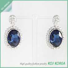 Wholesale Fashion Jewelry Tear Drop Earring / costume jewelry, high quality accessory in Korea