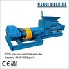 Common clay brick making machine/brick extruder in stock, fast delivery, engineer is available overseas